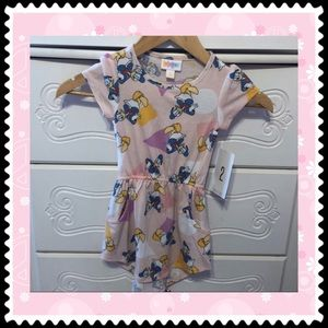 🦆 LulaRoe NWT Donald Duck beautiful dress size 2